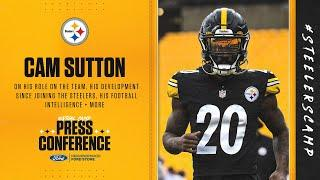 Steelers Virtual Camp  Press Conference (Aug. 29): Cam Sutton | 2020 Training Camp