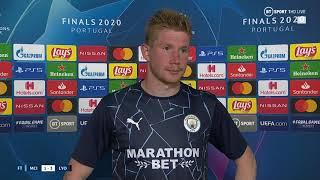 """""""Different year, same stuff!""""  Kevin de Bruyne laments another Champions League exit for Man City."""