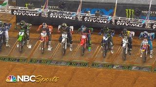Supercross Round 10 at Arlington | EXTENDED HIGHLIGHTS | 3/14/21 | Motorsports on NBC