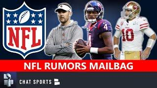 NFL Rumors Mailbag: Deshaun Watson & Jimmy Garoppolo Trade? Lincoln Riley Or Duce Staley Eagles HC?