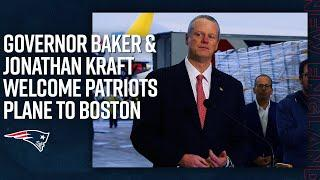 Patriots Plane Lands in Boston with Over 1 Million Respirator Masks