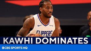 Kawhi Leonard Dominates with 45 Points, Clippers Force Game 7 | NBA Playoffs Recap | CBS Sports HQ