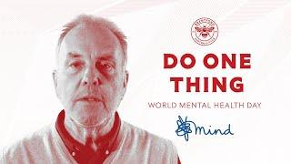Do One Thing on World Mental Health Day