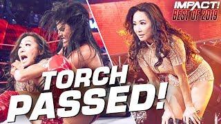 Gail Kim Passes The Torch To Tessa Blanchard! | IMPACT Wrestling Best of 2019