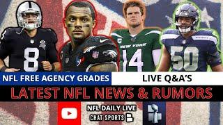 NFL Daily: Live Rumors, News & Q&A With Mitchell Renz (Mar. 22)