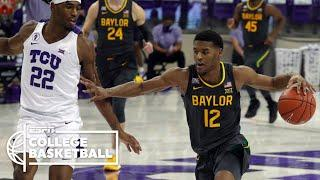 Baylor uses big second half to remain perfect vs. TCU [HIGHLIGHTS] | ESPN College Basketball