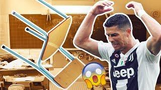 The day Cristiano Ronaldo threw a chair in class - Oh My Goal
