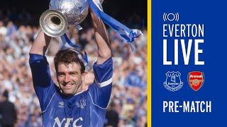LIVE EVERTON V ARSENAL PRE-MATCH SHOW WITH KEVIN RATCLIFFE!