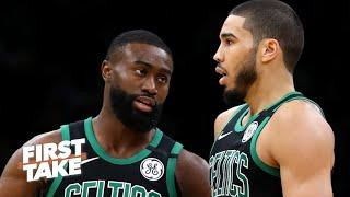 Jayson Tatum or Jaylen Brown: Who is the best player on the Celtics? | First Take