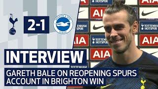 INTERVIEW | GARETH BALE ON FIRST GOAL SINCE SPURS RETURN | Spurs 2-1 Brighton