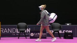 Clara Tauson vs. Timea Babos | 2021 Lyon Round 2 | WTA Match Highlights
