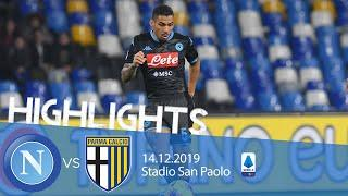 Highlights Serie A - Napoli vs Parma 1-2