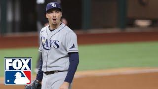 Blake Snell, Kevin Cash share opinions on controversial decision to pull Snell in Game 6 | FOX MLB