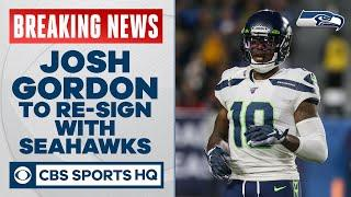 Josh Gordon to re-sign with Seahawks in 2020 but awaiting word on NFL reinstatement | CBS Sports HQ