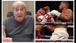 'IMPRESSED WITH JOSHUA? - NO... FURY STOPS HIM' - BOB ARUM EXPLAINS WHY / READY FOR TALKS WITH HEARN