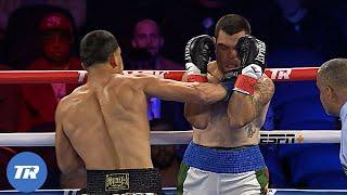 Edgar Berlanga 13 fights, 13 1st Rd Knockouts, Look back at fight number 10 | FREE FIGHT