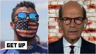 Paul Finebaum: NASCAR drivers supporting Bubba Wallace at Talladega was an 'amazing moment' | Get Up