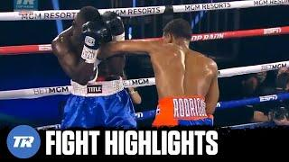 Elvis Rodriguez with another highlight reel knockout against Dennis Okoth | FIGHT HIGHLIGHTS