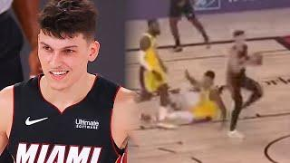 Kyle Kuzma Gets DROPPED By Tyler Herro & Falls Directly On His Butt! | NBA FINALS 2020