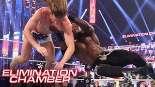 Bobby Lashley cleans house in Triple Threat clash: WWE Elimination Chamber (WWE Network Exclusive)