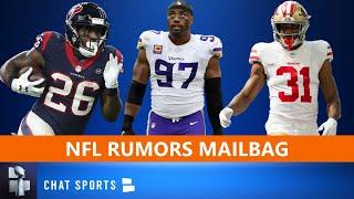 NFL Rumors Mailbag: Free Agency Rumors On Everson Griffen & Lamar Miller + Raheem Mostert Trade?