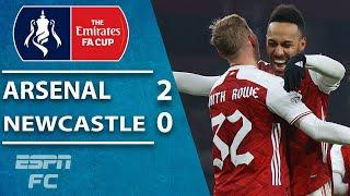 Arsenal survive extra-time scare vs. Newcastle United | ESPN FC FA Cup Highlights