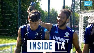 Fun in the sun as Pablo returns to training | Inside TA