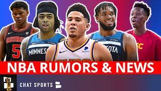 NBA News On Free Agency + Devin Booker Trade Rumors To Timberwolves? Anthony Edwards To Warriors?