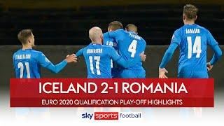 Sigurdsson scores vital brace | Iceland 2-1 Romania | Euro 2020 Qualification Play-Off Highlights