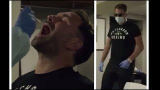 'SORRY FOR MAKING YOUR EYES WATER!' - EDDIE HEARN COVID TESTED BEFORE FIGHT CAMP WK1 AT MATCHROOM HQ