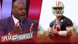 49ers supporting Jimmy Garoppolo gives them the best chance of winning | NFL | SPEAK FOR YOURSELF