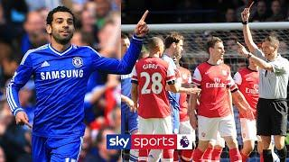 Mo Salah scores his FIRST PL goal as Chelsea crush Arsenal | Chelsea 6-0 Arsenal | March 2014