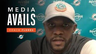 Coach Flores discusses the Dolphins' Week 13 win over the Bengals | Post Game Media Avails