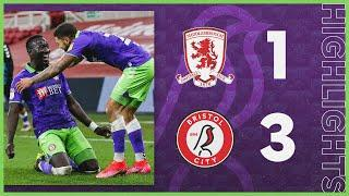 Diédhiou and Wells give Robins the win! | Middlesbrough 1-3 Bristol City | Highlights