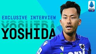 """""""We have to have more consistency!""""   Maya Yoshida   Exclusive Interview   Serie A TIM"""