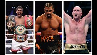 DID DAVID HAYE SAY HE WOULD COME BACK? -  HAYE CLARIFIES COMMENTS ON COMING BACK TO FIGHT AJ OR FURY