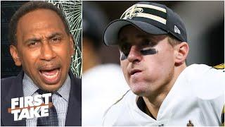Stephen A. reacts to Drew Brees' comments about 'disrespecting the flag,' apology | First Take