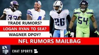 NFL Rumors: Logan Ryan To Seahawks? Trade Rumors On Dak Prescott & Dalvin Cook? Bobby Wagner DPOY?