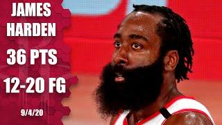 James Harden lights up Lakers with 36 points for Rockets in Game 1 | 2020 NBA Playoffs