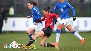 Women's Super League: Everton v. Manchester United | EXTENDED HIGHLIGHTS | NBC Sports