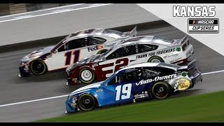 Super Start Batteries 400 Presented from Kansas Speedway | NASCAR Cup Series Full Race Replay