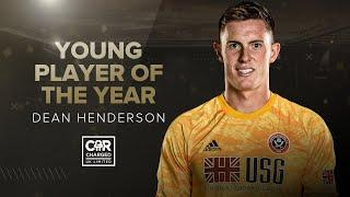 Dean Henderson's wins Sheffield United Young Player of the Year