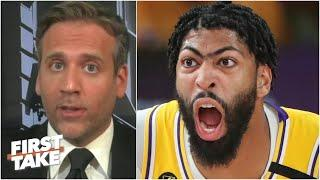 If Anthony Davis doesn't produce, it's over for the Lakers! - Max Kellerman | First Take