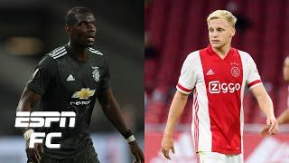 Donny van de Beek is Manchester United planning for life after Paul Pogba – Mark Ogden | ESPN FC