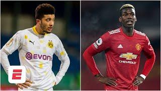 Will Paul Pogba and Jadon Sancho both be at Manchester United in 2021? | ESPN FC