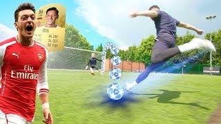 MESUT ÖZIL CRAZY BOUNCE SHOT TUTORIAL!