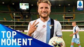 Immobile takes his tally to 34 league goals with hat-trick! | Hellas Verona 1-5 Lazio | Serie A TIM
