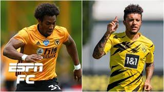 Could Adama Traore AND Jadon Sancho both be on their way to Manchester this summer   ESPN FC