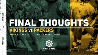 Vikings vs Packers | Final Thoughts