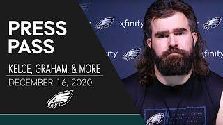 """Jason Kelce: Young Offensive Linemen Have Played """"Pretty Darn Well""""   Eagles Press Pass"""
